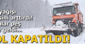 Son dakika: Kar yağışı etkisini arttırdı! Kazalar peş peşe geldi