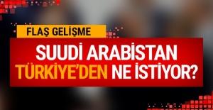 Suudi Arabistan, Türkiye'den istiyor? Olay iddia!