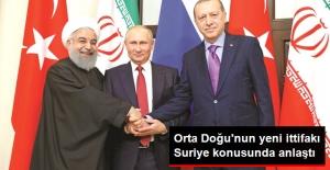 Türkiye, Rusya ve İran Suriye'de Siyasi Çözüm İçin Anlaştı