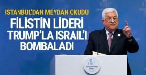 Filistin lideri Mahmud Abbas Trump'la İsrail'i bombaladı!