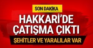 Hakkari Şemdinli#039;de çatışma...