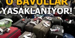 Havayolu şirketleri akıllı bavul taşınmasını yasaklıyor!