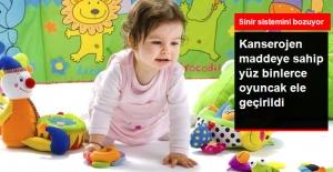 İstanbul'da Kanserojen Maddeye Sahip Yüz Binlerce Kaçak Oyuncak Ele Geçirildi