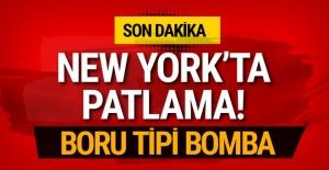 New York'ta patlama son dakika yaralılar var!