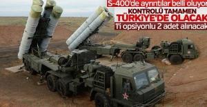 Savunma Sanayii Müsteşarlığı:  S-400 sisteminin kontrolü tamamen TSK'da olacak.