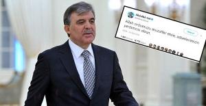 Abdullah Gül'den 'Zeytin Dalı' harekâtına ilişkin mesaj