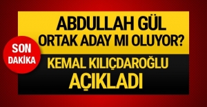 Abdullah Gül ortak aday mı oluyor? Kılıçdaroğlu açıkladı