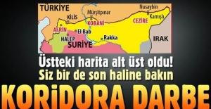Afrin'deki Zeytin Dalı operasyonunda 4. gün! Taha Akyol sınırda oluşturulan terör koridorunu yazdı