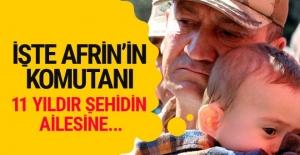 Afrin komutanı İsmail Metin Temel...