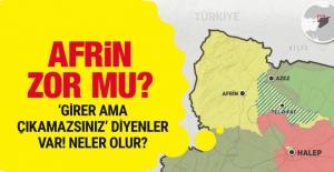 Afrin nerede PKK'nın ini deniliyor Afrin haritasına bakın