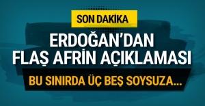 Afrin şehidi uğurlandı! Erdoğan'dan flaş açıklama