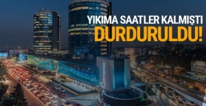 Akmerkez'deki yıkım için durdurma kararı