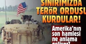 Amerika terör ordusu kuruyor! Suriye'de yeni raund başlıyor!