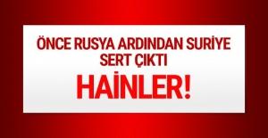 Esed rejiminden sert 'PYD/PKK ordusu' açıklaması