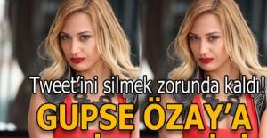 Gupse Özay'a Afrin tepkisi!