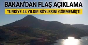 Herkesi endişelendirmişti! Bakan Eroğlu'dan kuraklık açıklaması
