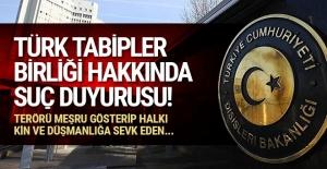 İçişleri Bakanlığı, TBB hakkında suç duyurusunda bulundu!