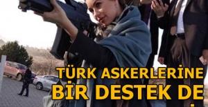 Macar oyuncudan Türk askerlerine Afrin desteği