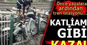 Manisa'da trafik kazası: 4 ölü, 2 yaralı