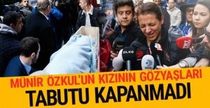 Münir Özkul#039;un cenazesi tabuta...
