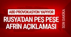 Rusya'dan peş peşe Afrin operasyonu açıklamaları...