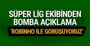 Sivasspor'dan Robinho açıklaması