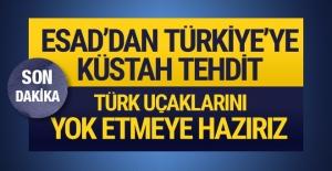 Suriye'den Türkiye'ye yönelik tehdit gibi açıklama