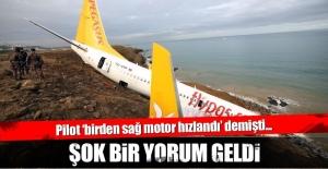 Trabzon'daki uçak kazası ile ilgili flaş yorum!