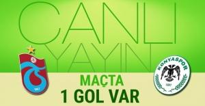 Trabzonspor Konyaspor maçı