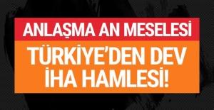 Türkiye'den dev İHA hamlesi: Anlaşma an meselesi!