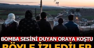 Türkiye'nin Afrin'e operasyonunu bölge halkı böyle izliyor