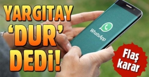 WhatsApp'ta grup kuran işçileri kovan patrona Yargıtay 'Dur' dedi!