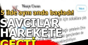 Zeytin Dalı harekatı ile ilgili sosyal medyada PKK propagandası yapanlara 5 ilde soruşturma