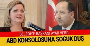 Belediye başkanından ABD İstanbul Başkonsolosuna...