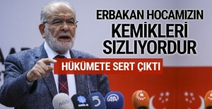 Karamollaoğlu'ndan sert çıkış: Erbakan hocamızın kemikleri sızlıyordur