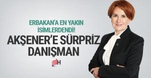 Meral Akşener'e sürpriz danışman