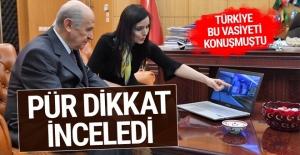 Türkiye bu vasiyeti konuşmuştu! Bahçeli pür dikkat inceledi