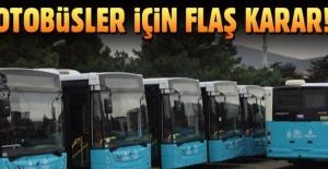 Yolcu otobüsleri için düğmeye basıldı