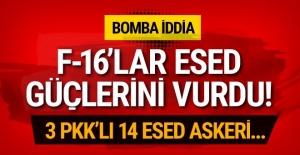 Bomba iddia! Türk jetleri Esed milislerini...