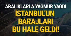 İstanbul barajları bu hale geldi! Yağmurdan sonra...