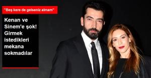 Kenan İmirzalıoğlu ve Eşi Sinem Kobal'ı Girmek İstedikleri Mekana Sokmadılar