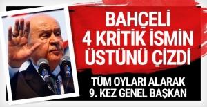 MHP kongresi yapıldı! Devlet Bahçeli yeniden başkan