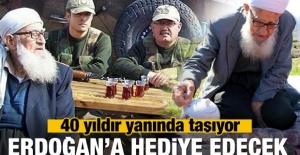Muhammet dede Erdoğan ile buluşacak!