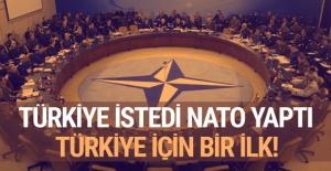NATO Türkiye'nin istediğini yaptı! Türkiye için bir ilk