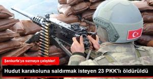 Şanlıurfa'da Dev PKK Operasyonu: 23 Terörist Öldürüldü