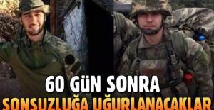 Şehit Mehmet Muratdağı ve Şehit Oğuz Kaan Usta'nın naaşlarına ulaşıldı