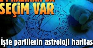 24 Haziran'da erken seçim var. İşte partilerin astroloji haritası!