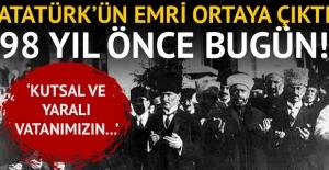 Atatürk'ün emri ortaya çıktı! 98 yıl önce bugün...