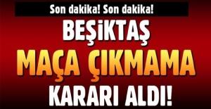 Beşiktaş Fenerbahçe maçına çıkmayacak