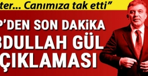 CHP'den son dakika Abdullah Gül açıklaması...